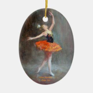 Ornamento de la bailarina ornamento para reyes magos