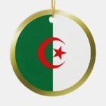 Ornamento de la bandera de Argelia Ornatos