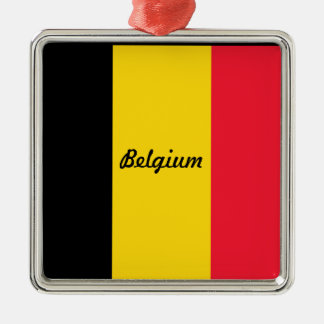 Ornamento de la bandera de Bélgica Adornos