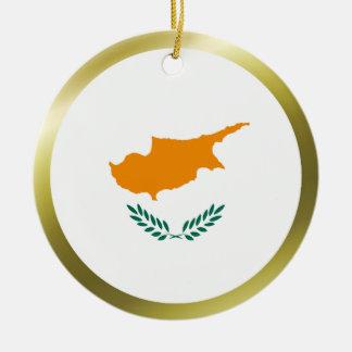 Ornamento de la bandera de Chipre Ornamentos De Reyes