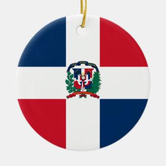 Ornamento de la bandera de la República Dominicana Adorno De Reyes