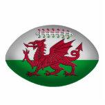 Ornamento de la bandera de País de Gales de la bol Adorno Fotoescultura