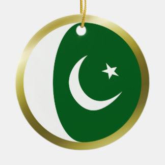 Ornamento de la bandera de Paquistán Adorno De Reyes