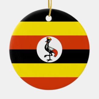 Ornamento de la bandera de Uganda Ornamento Para Reyes Magos