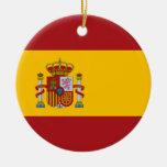 Ornamento de la bandera nacional de España Ornamento Para Reyes Magos