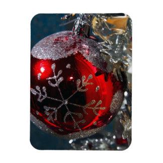 Ornamento de la bola del navidad imán