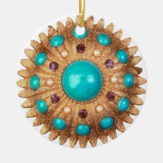 Ornamento de la broche del vintage ornaments para arbol de navidad