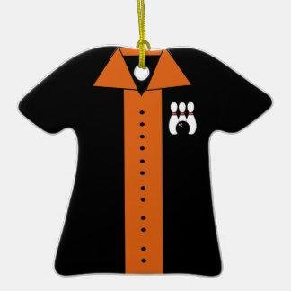 Ornamento de la camisa de los bolos ornato