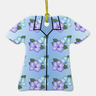 Ornamento de la camisa hawaiana ornamentos para reyes magos