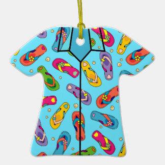 Ornamento de la camisa hawaiana adornos de navidad