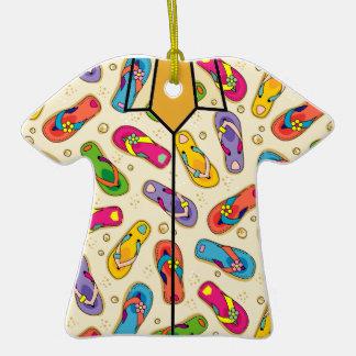 Ornamento de la camisa hawaiana ornamentos de reyes magos