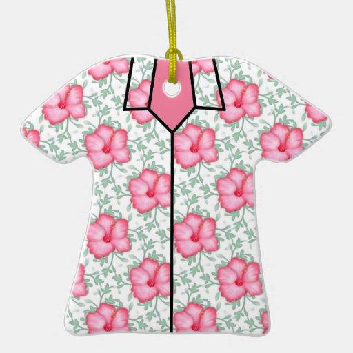 Ornamento de la camisa hawaiana ornamento de reyes magos