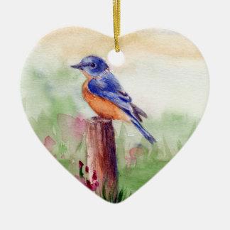 Ornamento de la canción del Bluebird Adorno De Reyes