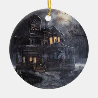 Ornamento de la casa del arrastramiento ornaments para arbol de navidad
