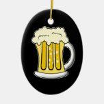 Ornamento de la cerveza ornamento de navidad