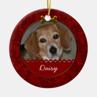 Ornamento de la conmemoración del perro adorno