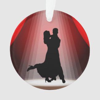 Ornamento de la danza - baile de salón de baile de