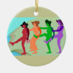 Ornamento de la danza de la playa ornato