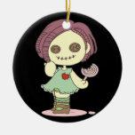 Ornamento de la decoración de Halloween de la muñe Ornatos