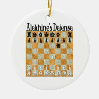 Ornamento de la defensa de Alekhine Adorno De Navidad