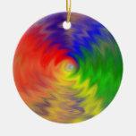 Ornamento de la deformación 9 del color adorno de navidad