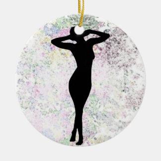 Ornamento de la desorientación Woman6 Adorno De Navidad