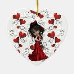 Ornamento de la diva ornamento de navidad
