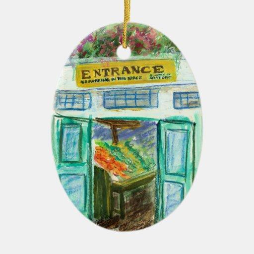 Ornamento de la entrada del mercado (lugar Seattle Adorno De Navidad