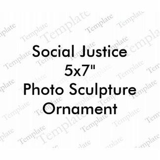 Ornamento de la escultura de la foto de la adorno fotoescultura