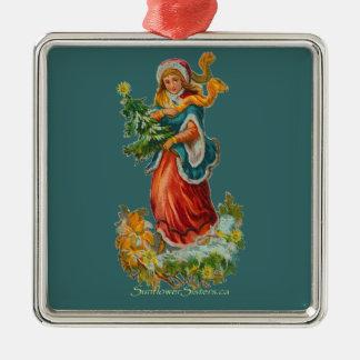Ornamento de la esperanza del vintage adorno de navidad