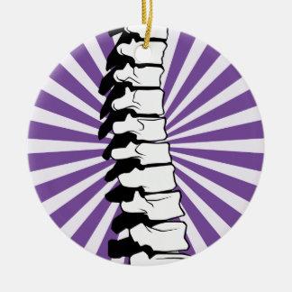 Ornamento de la espina dorsal de la explosión de adorno redondo de cerámica