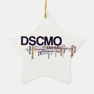 Ornamento de la estrella de DSCMO Ornamento De Navidad