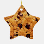 Ornamento de la estrella de la galleta de micropro ornaments para arbol de navidad