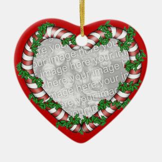 Ornamento de la foto del navidad ornamento de navidad