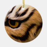Ornamento de la foto del tigre adorno para reyes