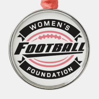 Ornamento de la fundación del fútbol de las mujere ornamentos de reyes magos