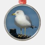 Ornamento de la gaviota ornamento para arbol de navidad