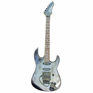 Ornamento de la guitarra adorno fotoescultura