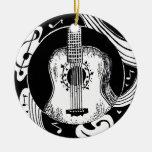 Ornamento de la guitarra ornamento para reyes magos