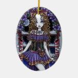 Ornamento de la hada de la fiesta de Navidad del Ornamento Para Arbol De Navidad