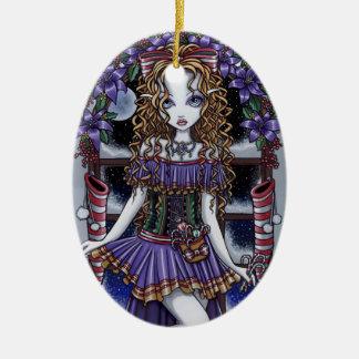 """Ornamento de la hada de la fiesta de Navidad del """" Ornamento Para Arbol De Navidad"""