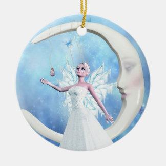 Ornamento de la hada del cielo de la luna ornamente de reyes