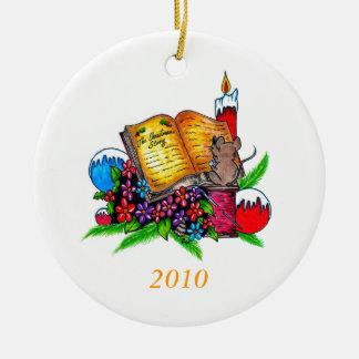 Ornamento de la historia 2010 del navidad ornamentos para reyes magos