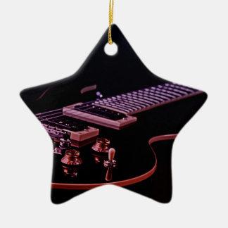 Ornamento de la imagen de la guitarra ornamentos para reyes magos