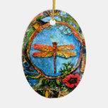 Ornamento de la libélula II de PMACarlson Ornamento De Navidad
