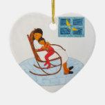 """Ornamento de la """"madre y del niño"""" adorno de reyes"""