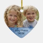 Ornamento de la mamá de las Felices Navidad de la  Ornamentos Para Reyes Magos