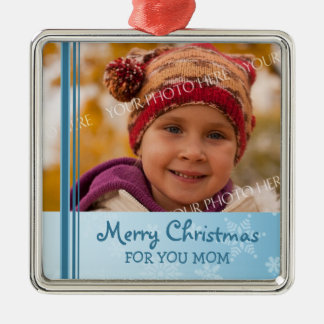 Ornamento de la mamá de las Felices Navidad de la  Adornos De Navidad
