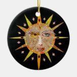 Ornamento de la mandala de 2010 Sun Ornamento De Reyes Magos