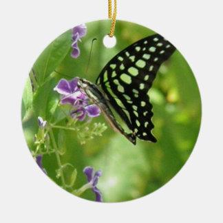 Ornamento de la mariposa del jardín ornamento de navidad